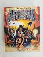 "The ELDER SCROLLS Arena Big Box PC (3.5"" Floppy Disks) Game Complete EUC"