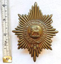 Victorian Military Royal Worcestershire Regiment Helmet Badge /Cross Belt (3452