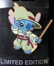 Disney Pin WDI Stitch Dressed in Cast Member Costumes Pirate's Lair - Le300