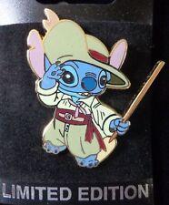 Disney Pin WDI Stitch Dressed in Cast Member Costumes Pirate's Lair - Le300