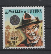 C339 Wallis & Futuna 420 postfris Scouting