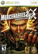 MERCENARIES 2 WORLD IN FLAMES Game Xbox 360 PAL Fast Post UK
