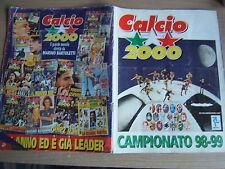 ALBUM FIGURINE CALCIO2000=CAMPIONATO 98-99 =NON COMPLETO