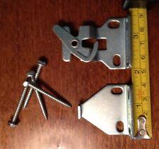 "1 pair ROLLEASE Roller Window Shade STANDARD R8 LOCKING CLUTCH BRACKETS 3/8"" Tab"
