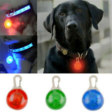 LED Flashing Collar Tag Clip Buckle Pet Dog Cat Puppy Safety Night Light Pendant