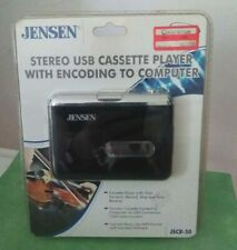 Jensen Jscr-50 Stereo Usb Cassette Player With Encoding to Computer Mp3