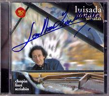 Jean-Marc LUISADA Signiert CHOPIN LISZT SCRIABIN Piano Sonata CD Etude Tristesse