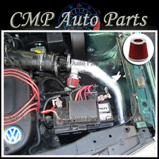 BLACK.RED COLD AIR INTAKE KIT fit for 1999-2005 VW GOLF GTI GLX 2.8 2.8L VR6