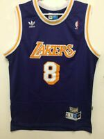 NWT Kobe Bryant #8 Los Angeles Lakers MEN'S Throwback Purple Sewn Jersey