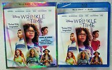 Brand New Disney 2-Way Blu-Ray DVD Combo 2018 A Wrinkle in Time Oprah w/sleeve