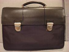A.G. SPALDING BROS. 520 FIFTH AVE BLACK BRIEFCASE SHOULDER BAG U900 - NEW - $650