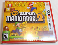 NEW SUPER MARIO BROS 2 Brand New NINTENDO 3DS GAME Brothers Two NSMB2 NSMB