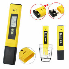 Electric Digital PH Tester Water Pool Hydroponics Aquarium Test Pen Pocket Meter