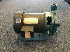 Weinman 4ac 3p12 Used 1 Hp Centrifugal Pump 76 Gpm 16 Hd 125 Psi Max 3ph