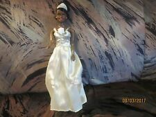 "Disney Classic TIANA 12"" DOLL IN WEDDING GOWN AS SEEN IN PRINCESS AND THE FROG."