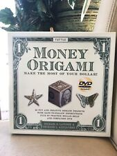 Money Origami 21 Projects Kit w/ Companion Instruction DVD & 60 Practice Dollars
