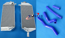 For SUZUKI RM125 2001-2008 02 03 04 05 06 07 Aluminum radiator & hose BLUE