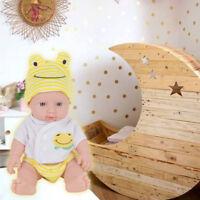 For Baby Newborn Silicone Vinyl Reborn Gift Baby Doll Handmade Reborn Dolls