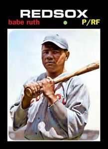 BABE RUTH 71 ACEO ART CARD #### BUY 5 GET 1 FREE ### or 30% OFF 12 OR MORE