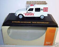 IXO CITROEN 2CV ACADIANE SOS ALLO DEPANNAGE MOSELLE 1/43 IN BOX