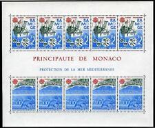 1986 MONACO BLOC N°34 DENTELE EUROPA xx