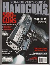 HANDGUNS MAGAZINE 2014 Buyer's Guide 500 + GUNS OVER 900 MODELS.