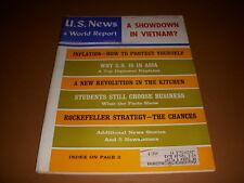 U.S. News & World Report, February, 19, 1968, Vietnam, Rockefeller, Inflation!