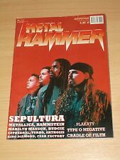 Metal Hammer magazine 3 2001 * Sepultura on cover * Rammstein * Paradise lost