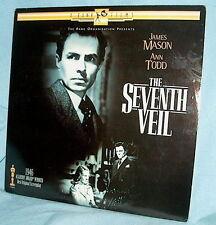 LD laserdisc THE SEVENTH VEIL James MASON and Ann TODD Psycho-Thriller!