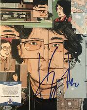 Bong Joon-Ho signed 11x14 Parasite Authentic Autograph Beckett Cert