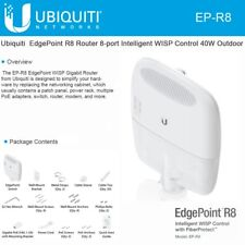 Ubiquiti EP-R8 EdgePoint R8 Router 8-port Intelligent WISP Control 40W Outdoor