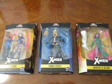 Hasbro Marvel Legends  Women of Marvel EMMA FROST, PSYLOCKE & BLINK  3 COOL TOYS