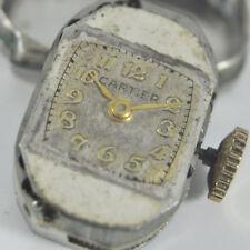 Antikes Cartier Werk + Zifferbatt AS1051 Dial and Movement Handaufzug - 1940ties
