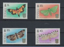 Tuvalu 1980 Falter Mi.-Nr. 125-28 Satz 4 Werte **