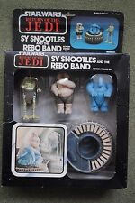 Star Wars Vintage ROTJ 1983 Sy Snootles and the Rebo Band MOC Carded Figures