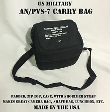 PADDED BINOCULARS CAMERA BAG CARRY CASE US MILITARY NIGHT VISION GOGGLES NVG NEW