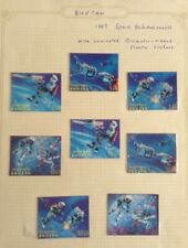 Bhutan 1967 - Space Achievements Stamps - Prismatic Ribbed Plastic Surface