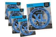 5 PACK D'Addario Guitar Strings Electric Jazz Light Gauge 12-52 with wound third