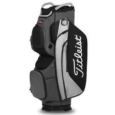 Titleist Cart 15 Golf Bag - Charcoal/Grey/Black - New 2020
