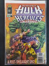 Incredible Hulk Hercules Unleashed #1 Marvel VF/NM Comics Book