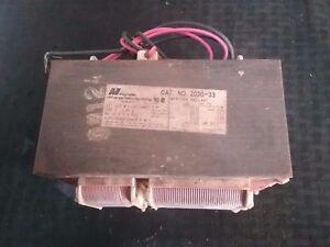 MagneTek 2030-33, 400W, H-33, 480V, 60 Hz Mercury Ballast