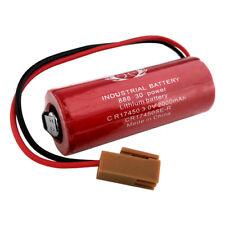 Sanyo CR17450SE-R 3V 2500mAh Li-ion PLC Industrial Battery w/ Resistor / Plug.