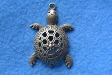 B016 breloque scrapbooking pendentif BRICOLAGE bracelet collier tortue