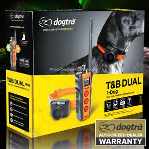 Dogtra T&B DUAL DIAL 1-DOG Training E-Collar Upland Beeper 1.5-Miles