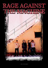 RAGE AGAINST THE MACHINE STAIR MUSIC FLAGS WALL HANGER  ITALY SILK  LICENSE L851