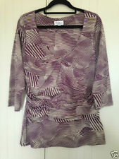 Millers 3/4 Sleeve Geometric Casual Tops & Blouses for Women