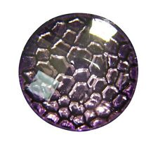 Noosa Style Chunks Snap Button Charms Chunk Charm Snaps Reptile Purple 18mm