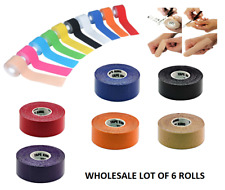 """Wholesale Lot x 6 Rolls of Bowling Thumb Finger Protection Tape 1"""" x 196"""""""