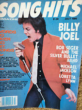 Song Hits Magazine 7/80 Billy Joel Michael Jackson Bob Seger Loretta Lynn