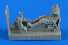 Aerobonus 1/48 Soviet Woman Gunner WWII with Seat for Polikarpov Po-2 # 480155